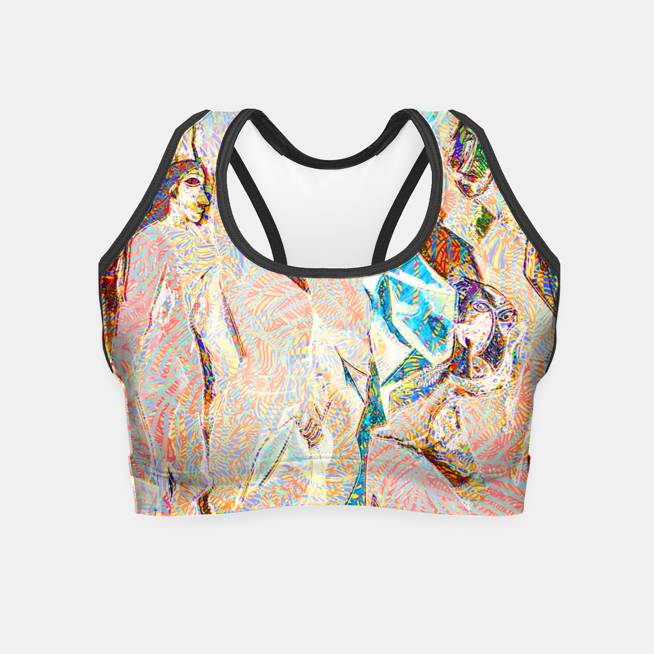 Image of picasso Crop Top - Live Heroes
