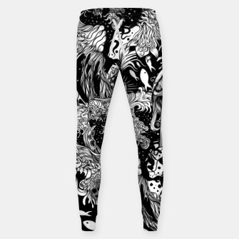 Thumbnail image of Red inked Eye Sweatpants, Live Heroes