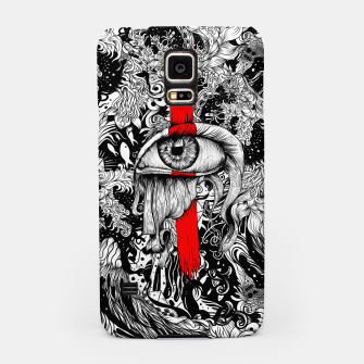Thumbnail image of Red inked Eye Samsung Case, Live Heroes
