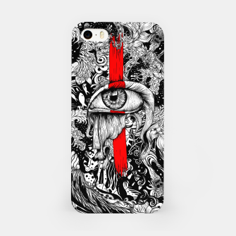 Thumbnail image of Red inked Eye iPhone Case, Live Heroes