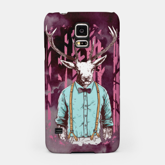 Thumbnail image of Brave Deer and Gentleman Samsung Case, Live Heroes
