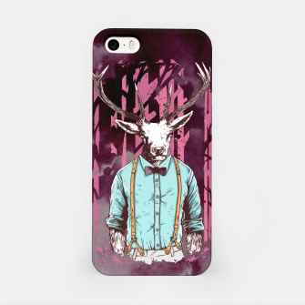 Thumbnail image of Brave Deer and Gentleman iPhone Case, Live Heroes