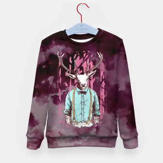 Thumbnail image of Brave Deer and Gentleman Kid's sweater, Live Heroes