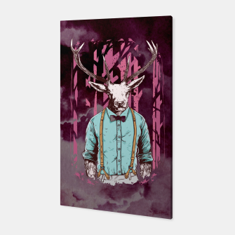 Thumbnail image of Brave Deer and Gentleman – Canvas, Live Heroes
