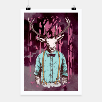 Thumbnail image of Brave Deer and Gentleman – Poster, Live Heroes