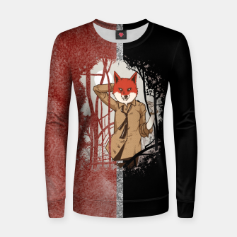Thumbnail image of Smart Fox Women sweater, Live Heroes