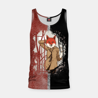 Thumbnail image of Smart Fox Tank Top, Live Heroes