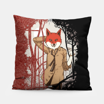 Thumbnail image of Smart Fox Pillow, Live Heroes