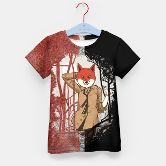 Thumbnail image of Smart Fox – Kid's t-shirt, Live Heroes