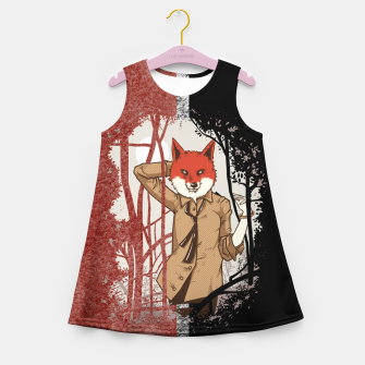 Thumbnail image of Smart Fox – Girl's summer dress, Live Heroes