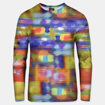 Miniature de image de Colorful Blurred Abstract Texture Print Unisex sweater, Live Heroes