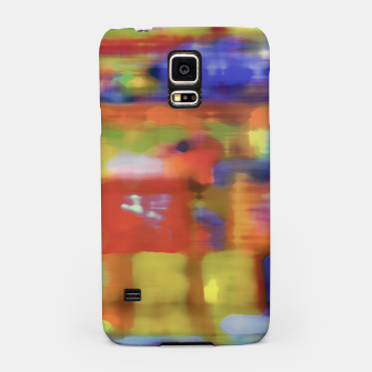 Thumbnail image of Colorful Blurred Abstract Texture Print Samsung Case, Live Heroes
