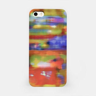 Thumbnail image of Colorful Blurred Abstract Texture Print iPhone Case, Live Heroes