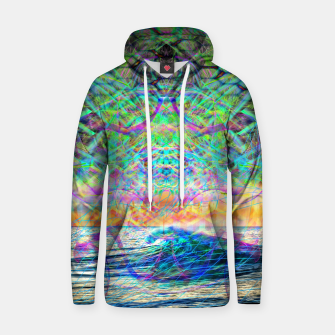 Thumbnail image of Wave Grid Consciousness Hoodie, Live Heroes