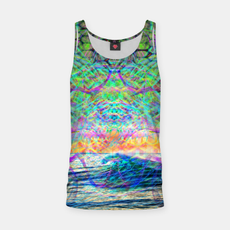 Miniaturka Wave Grid Consciousness Tank Top, Live Heroes