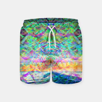 Thumbnail image of Wave Grid Consciousness Swim Shorts, Live Heroes