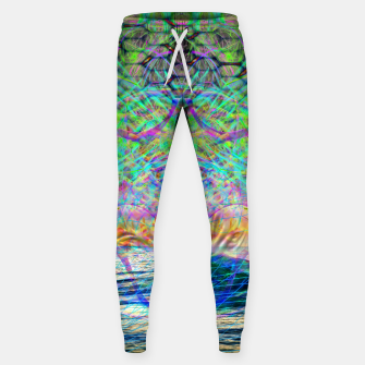 Thumbnail image of Wave Grid Consciousness Sweatpants, Live Heroes