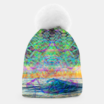 Thumbnail image of Wave Grid Consciousness Beanie, Live Heroes