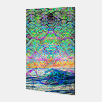 Thumbnail image of Wave Grid Consciousness Canvas, Live Heroes