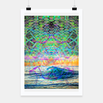 Thumbnail image of Wave Grid Consciousness Poster, Live Heroes