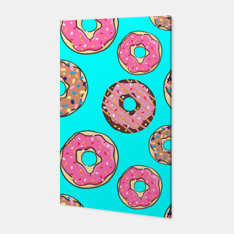 Miniatur Donut - Sweets - candy like Canvas, Live Heroes