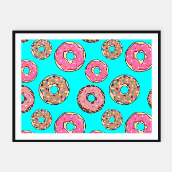 Thumbnail image of Donut - Sweets - candy like Plakat mit rahmen, Live Heroes