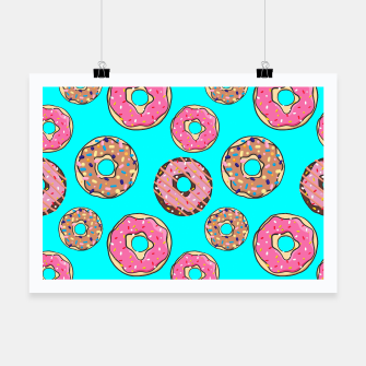 Thumbnail image of Donut - Sweets - candy like Plakat, Live Heroes