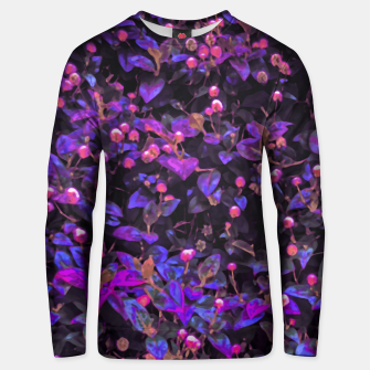 Miniatur Stylized Floral Texture Pattern Unisex sweater, Live Heroes