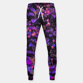 Thumbnail image of Stylized Floral Texture Pattern Sweatpants, Live Heroes