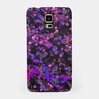 Miniatur Stylized Floral Texture Pattern Samsung Case, Live Heroes