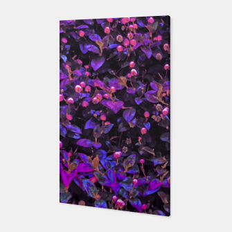 Miniatur Stylized Floral Texture Pattern Canvas, Live Heroes