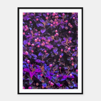 Miniatur Stylized Floral Texture Pattern Framed poster, Live Heroes