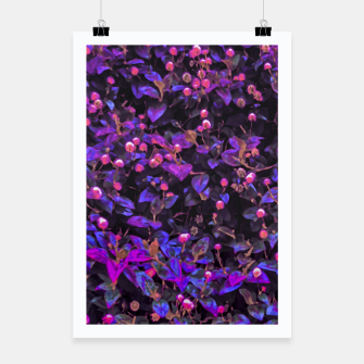 Miniatur Stylized Floral Texture Pattern Poster, Live Heroes