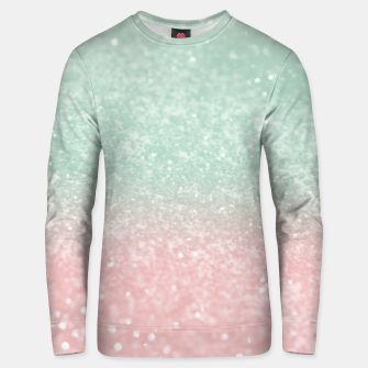 Thumbnail image of Pastel Summer Glitter #1 (Faux Glitter - Photography) #shiny #decor #art  Unisex sweatshirt, Live Heroes