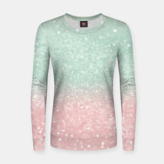 Thumbnail image of Pastel Summer Glitter #1 (Faux Glitter - Photography) #shiny #decor #art  Frauen sweatshirt, Live Heroes
