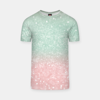 Thumbnail image of Pastel Summer Glitter #1 (Faux Glitter - Photography) #shiny #decor #art  T-Shirt, Live Heroes