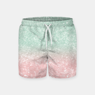 Thumbnail image of Pastel Summer Glitter #1 (Faux Glitter - Photography) #shiny #decor #art  Badeshorts, Live Heroes