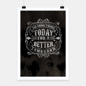 Thumbnail image of Do something today – Poster, Live Heroes