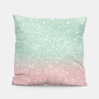 Thumbnail image of Pastel Summer Glitter #1 (Faux Glitter - Photography) #shiny #decor #art  Kissen, Live Heroes