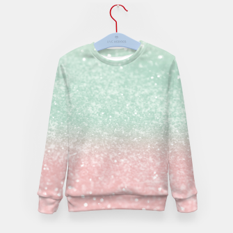 Thumbnail image of Pastel Summer Glitter #1 (Faux Glitter - Photography) #shiny #decor #art  Kindersweatshirt, Live Heroes