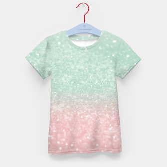 Thumbnail image of Pastel Summer Glitter #1 (Faux Glitter - Photography) #shiny #decor #art  T-Shirt für kinder, Live Heroes