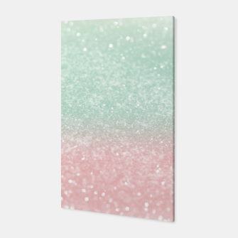 Thumbnail image of Pastel Summer Glitter #1 (Faux Glitter - Photography) #shiny #decor #art  Canvas, Live Heroes