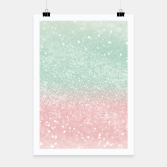 Thumbnail image of Pastel Summer Glitter #1 (Faux Glitter - Photography) #shiny #decor #art  Plakat, Live Heroes