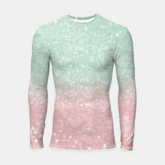 Thumbnail image of Pastel Summer Glitter #1 (Faux Glitter - Photography) #shiny #decor #art  Longsleeve rashguard, Live Heroes