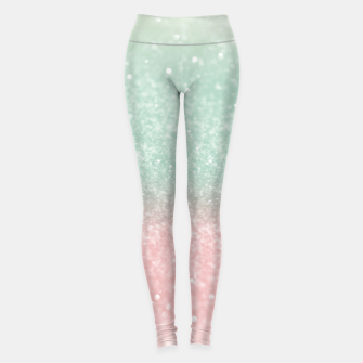 Thumbnail image of Pastel Summer Glitter #1 (Faux Glitter - Photography) #shiny #decor #art  Leggings, Live Heroes