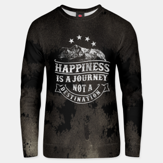 Thumbnail image of Happiness is a Journey –  Unisex sweater, Live Heroes