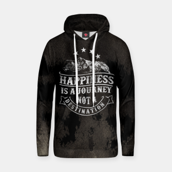 Thumbnail image of Happiness is a Journey –  Hoodie, Live Heroes