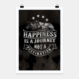 Miniatur Happiness is a Journey –  Poster, Live Heroes