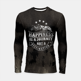 Miniatur Happiness is a Journey –  Longsleeve rashguard , Live Heroes