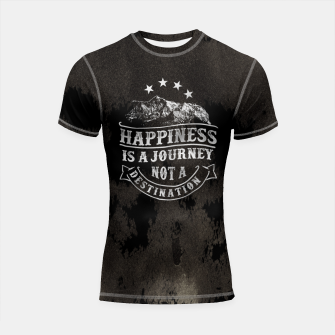 Miniatur Happiness is a Journey –  Shortsleeve rashguard, Live Heroes
